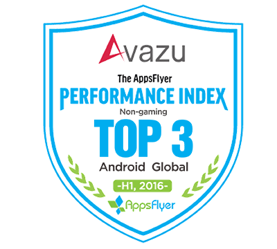 Avazu Ranks TOP3 in AppsFlyer Android Global Non-gaming Advertising Networks