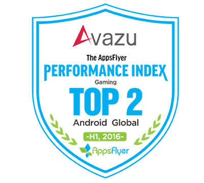 Avazu Ranks TOP2 in AppsFlyer Android Global Gaming Advertising Networks