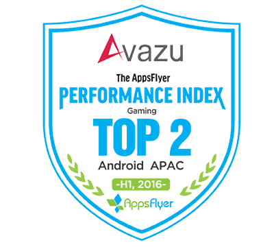Avazu Ranks TOP2 in AppsFlyer Android APAC Gaming Advertising Networks